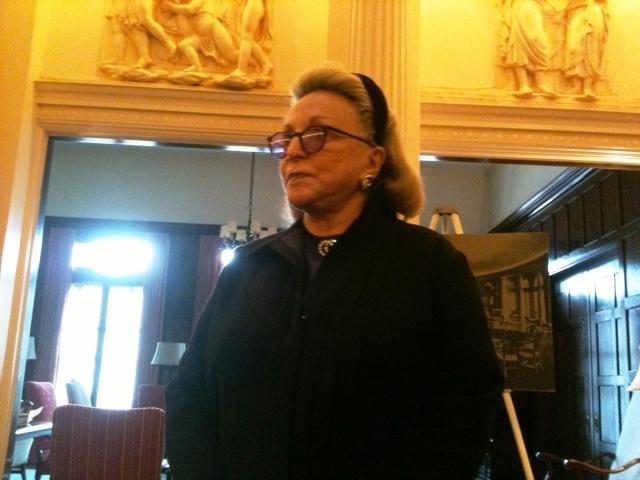 Dr. Barbara-lee Diamonstein-Spielvogel is in Buffalo