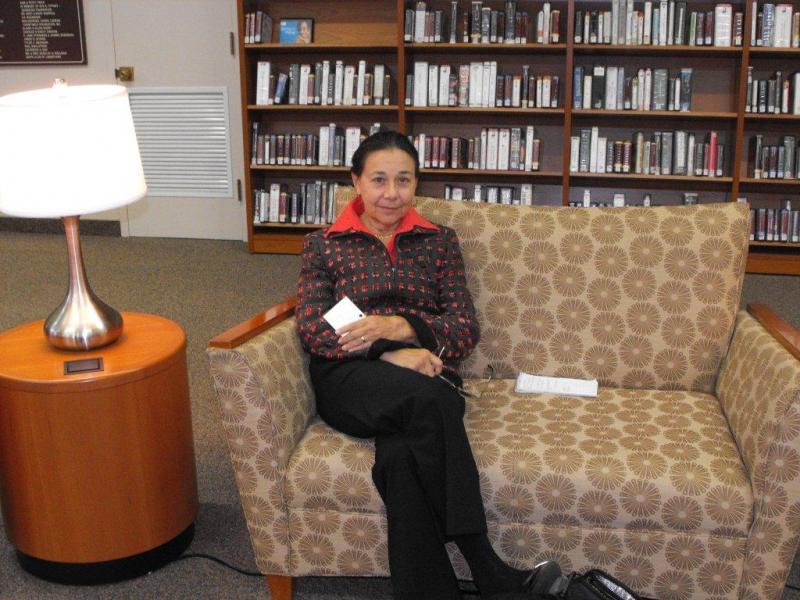 Linda Mielke, director Jamestown Prendergast Library system