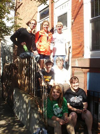 St Bonaventure Marks Philanthropy Day By Emphasizing Student Volunteering Wbfo