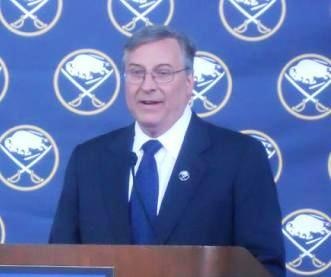 Sabres owner Terry Pegula