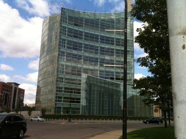 Buffalo's new federal courthouse in downtown Buffalo