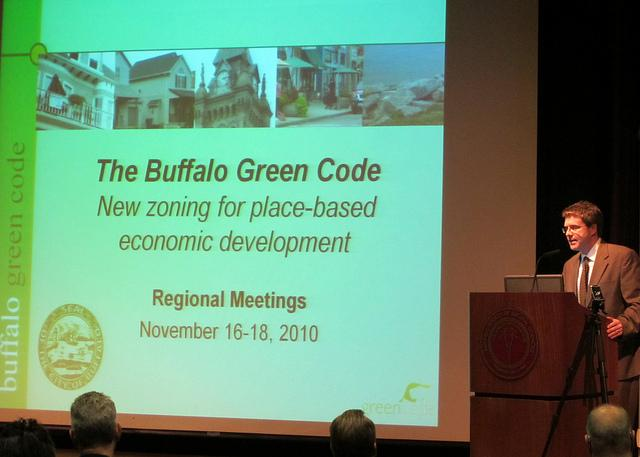 City of Buffalo Green Code plan