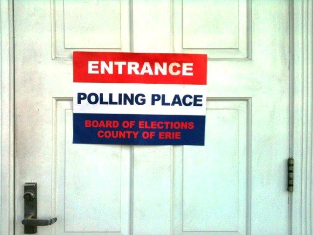 Polling site at University Presbyterian Church at Main Street & Niagara Falls Blvd.
