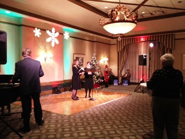 MusicalFare's recent holiday fundraiser at the Westwood Country Club in Amherst