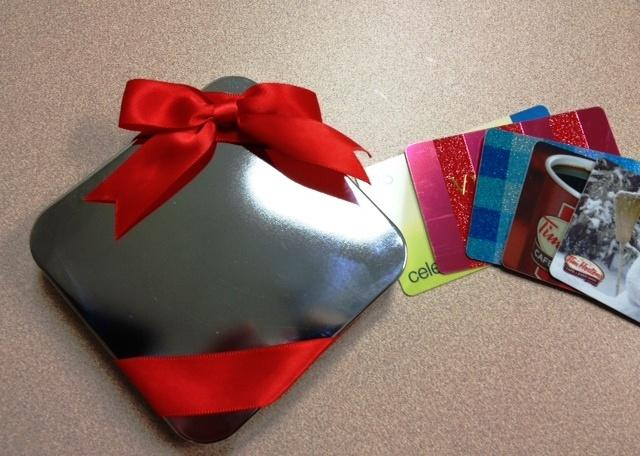 Holiday gift cards popular this season