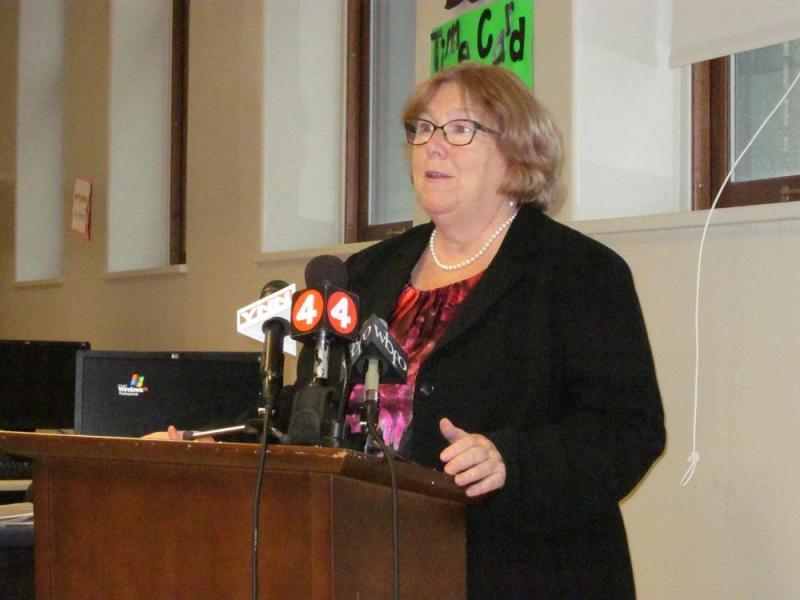 Interim Buffalo School Superintendent Amber Dixon (FILE)
