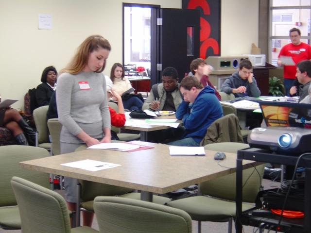 """ECC students and faculty discuss Dr. King's """"drum major"""" speech"""