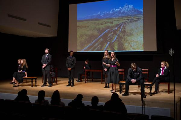 Buffalo State College student theater production of The Laramie Project