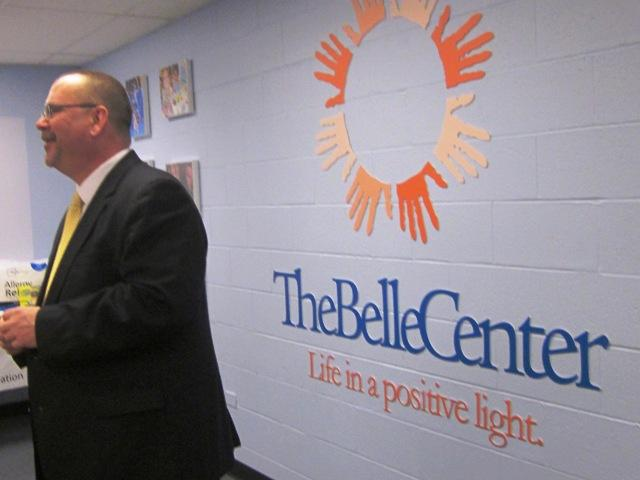 The Belle Center Development Director Mike Szymanski