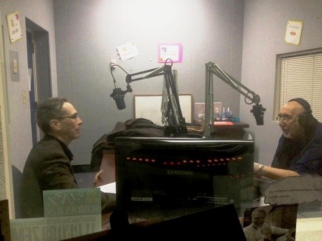 Anthony Chase & Jim Santella, Theatre Talk co-hosts