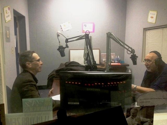 WBFO's Theatre Talk hosts Anthony Chase & Jim Santella