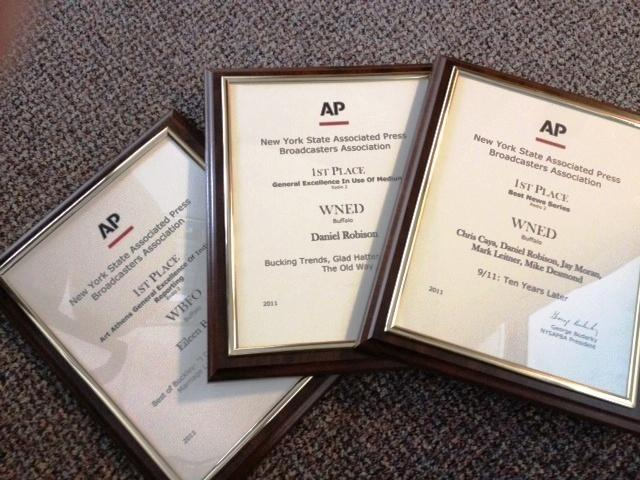 WBFO/AM 970 Associated Press First Place Awards