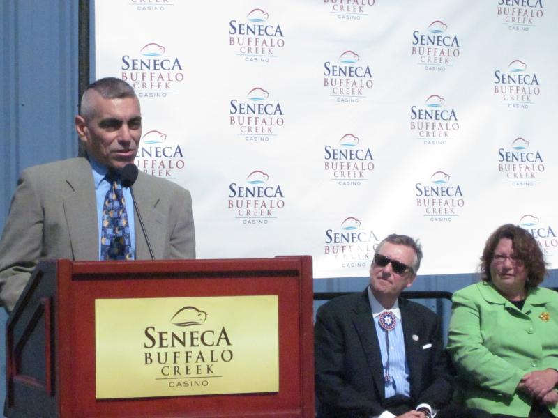 Seneca Nation leaders announced $1 million in neighborhood improvement grants Tuesday.