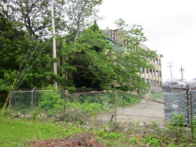 Former Bethlehem Steel administration building in Lackawanna