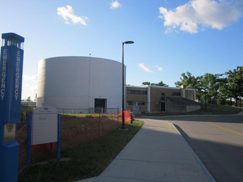 UB's former research reactor on the South campus in Buffalo
