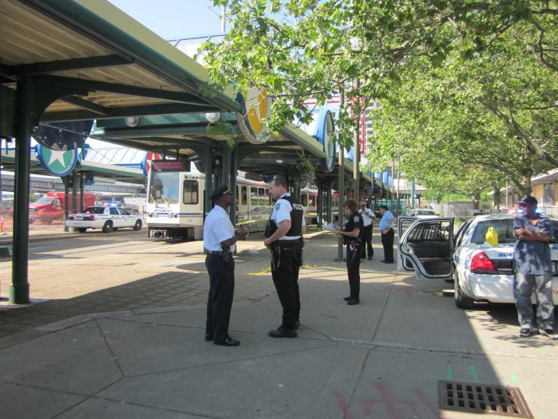 Buffalo Police investigating double stabbing at Harbor Metro Rail stop downtown
