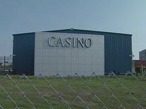 The temporary downtown casino opened in 2007.