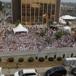 The 2011 Lucille Ball Comedy Festival drew 13,000 visitors.