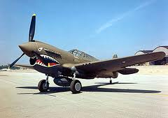 A P-40 Warhawk, similar to this one, will also visit Buffalo.