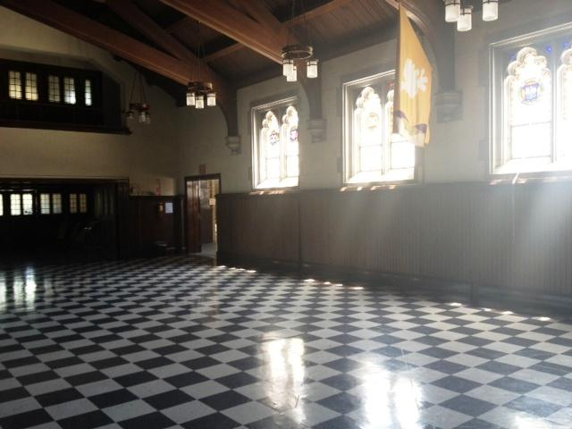 Inside Central Park United Methodist Church where Wisteria will be opening this fall