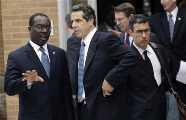 Mayor Brown and Governor Cuomo