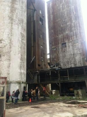 Buffalo's former grain elevators
