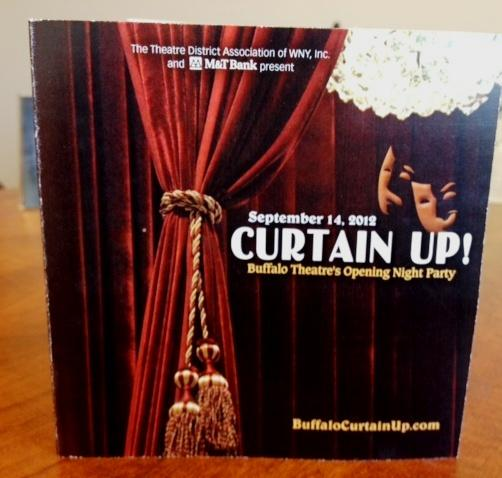 2112 Curtain Up! invitation