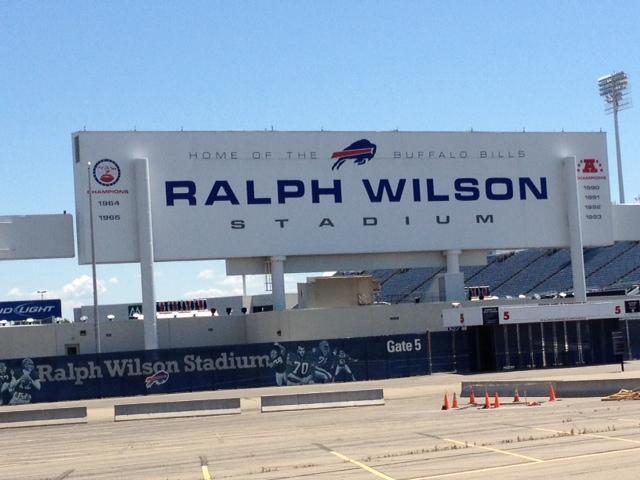 Ralph Wilson Stadium, Orchard Park, NY