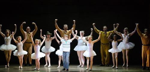 Billy Elliot The Musical is on stage at Shea's Performing Arts Center