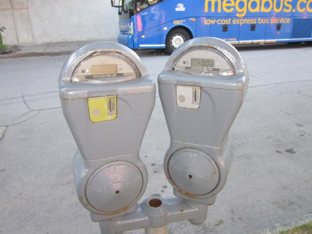 City Parking Meters