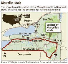 State approval of hydrofracking would allow for widespread natural gas drilling in the Southern Tier.