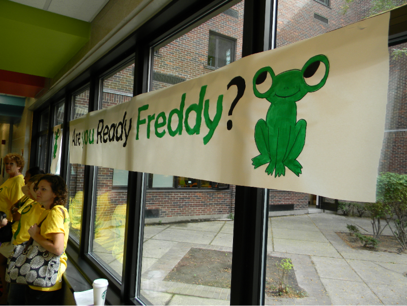 Ready Freddy is a new kindergarten-based program that tries to instill a love of school among students, which education officials hope translates into increased attendance.
