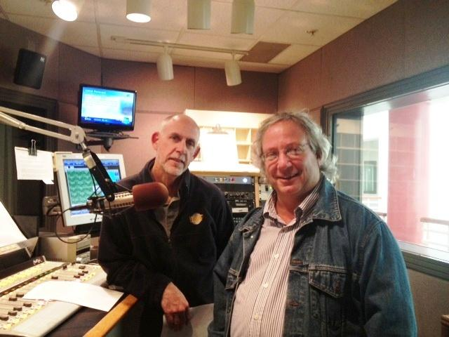 Jay Moran & Jim Fink in studio