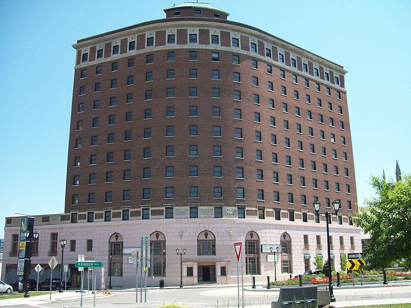 Niagara Hotel is  listed on the National Register of Historic Places