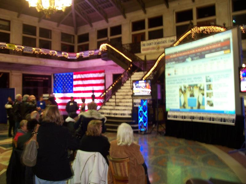 Erie County Democratic Headquarters at Ellicott Square