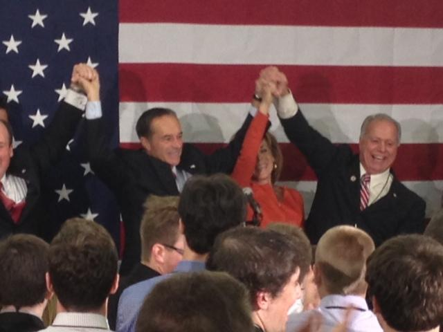 Republican Chris Collins celebrates 27th Congressional race victory with GOP in Buffalo