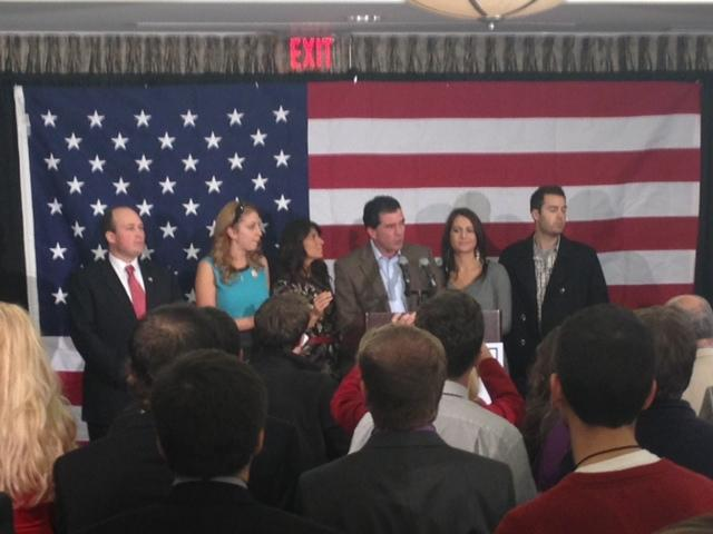 Republican Mark Grisanti celebrates relection