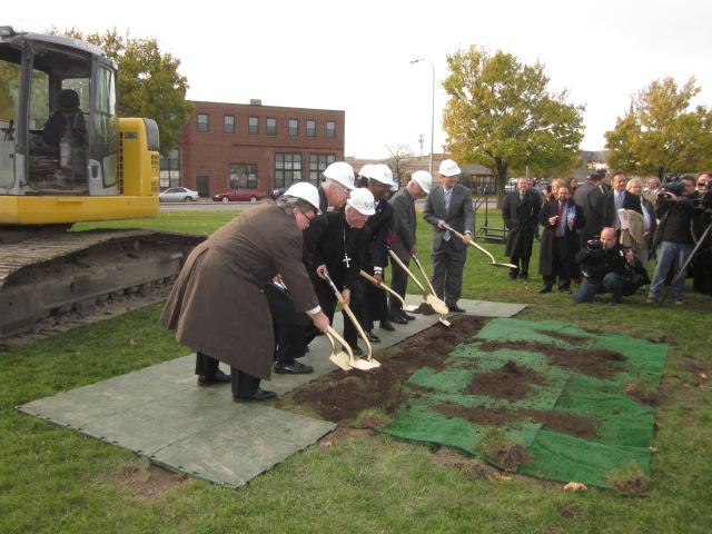 Breaking ground for new Catholic Health headquarters