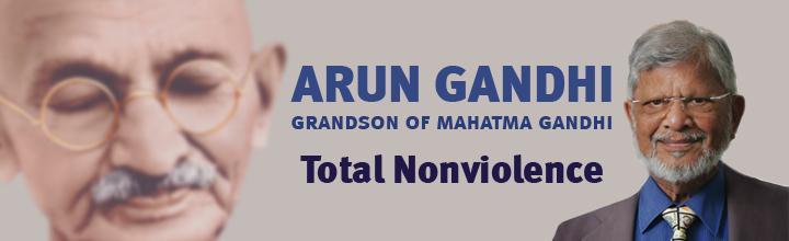 78-year-old Dr. Arun Gandhi