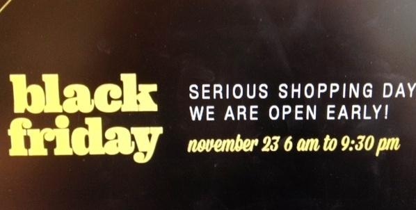 Black Friday promoted by Eaton Center