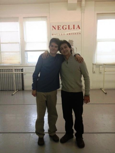 Nico & Sergio Neglia in the Neglia studio in Bufffalo