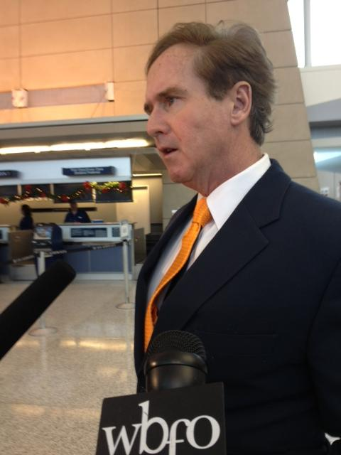 Congressman Brian Higgins responds to questions about gun control
