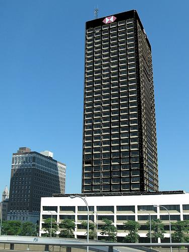 HSBC Tower in downtown Buffalo