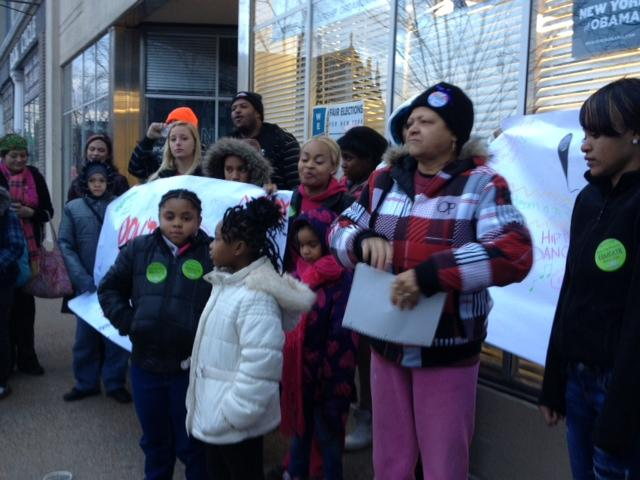 Buffalo school students & parents rally for education funding