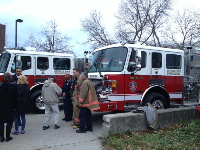 New fire pumpers dedicated in downtown Buffalo