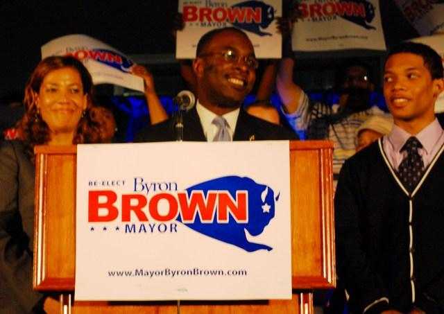 Byron Brown's Mayoral win