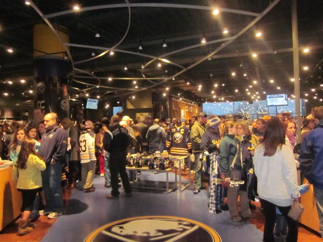 Fans have been taking advantage of a 50% off sale at the Sabres Store.