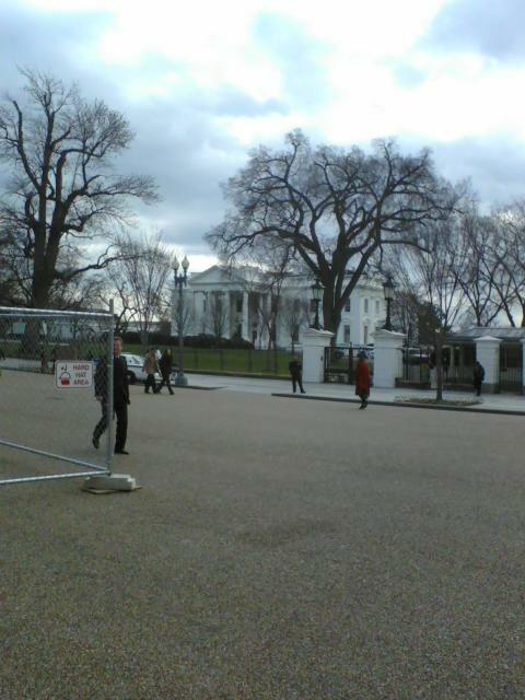 Outside White House, Washington, D.C.