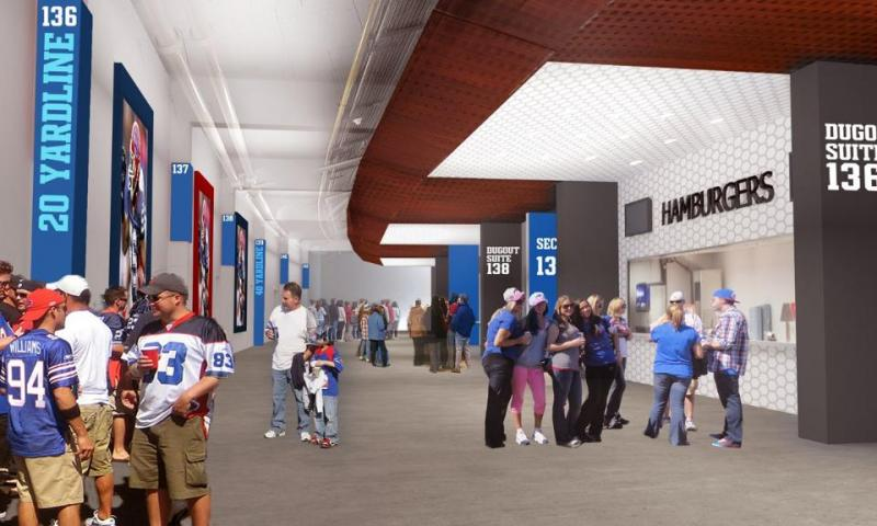 New 100 Level concourse