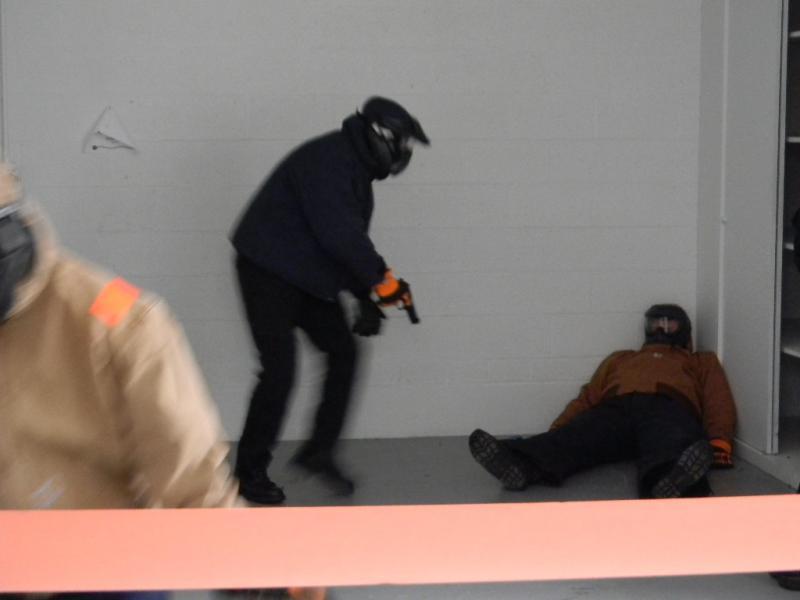 Active Shooter Training at Hamburg Fairgrounds